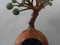 l'arbre et la terre terre polie et raku