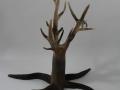 l'arbre mort et sa chouette terre polie