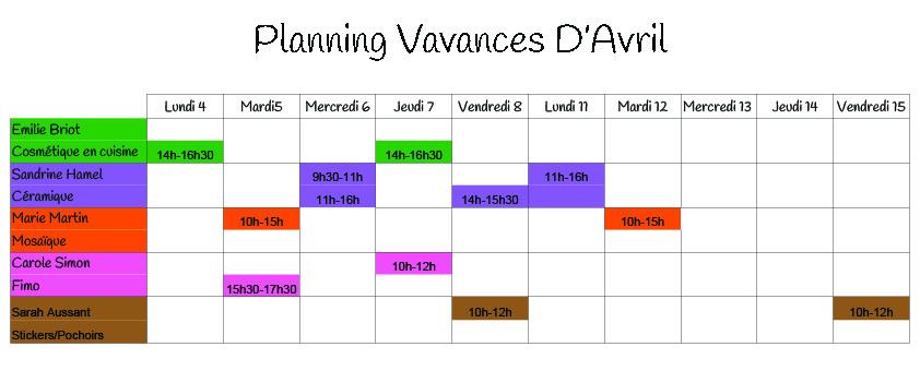 planningavril20162